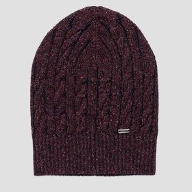 Wool and silk beanie REPLAY