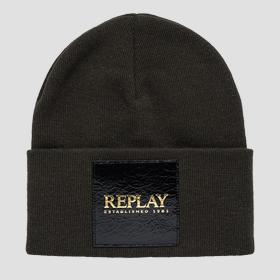 REPLAY ESTABLISHED 1981 cotton beanie