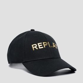 REPLAY cap with bill in cotton