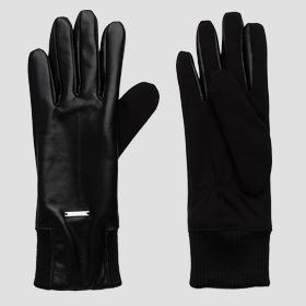 Smooth leather gloves REPLAY