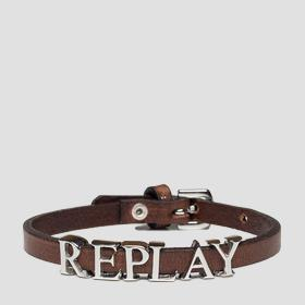 Thin bracelet with charm REPLAY