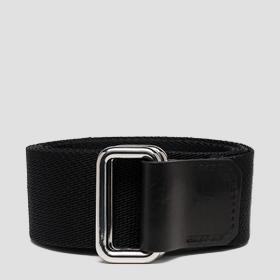 Fabric belt with sliding buckle