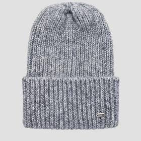 REPLAY recycled ribbed beanie