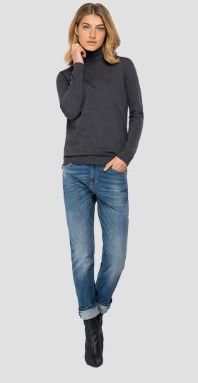 Hyperflex Merino turtleneck sweater