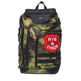 Multi-pocket camouflage backpack fm3296.000.a0345