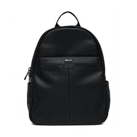 rounded backpack in eco-leather fm3302.000.a0015