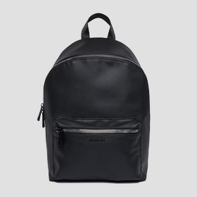 Eco-leather backpack