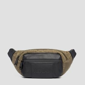 Quilted nylon waist bag