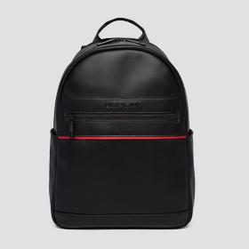 PU backpack with matt effect