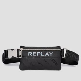 REPLAY waist bag with saffiano effect