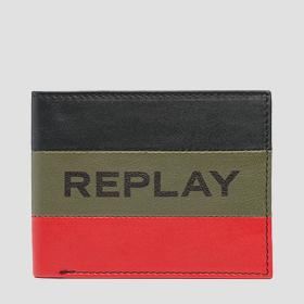Striped REPLAY wallet