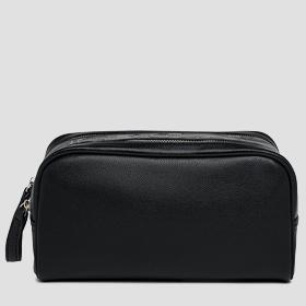 REPLAY cosmetic bag with double compartment