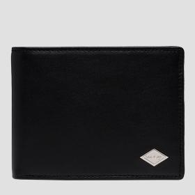 REPLAY smooth leather wallet