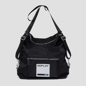 Bag with REPLAY 1981 print