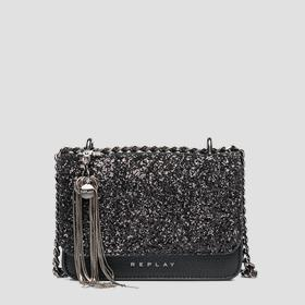 Glitter crossbody bag REPLAY