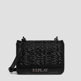 Crossbody bag with small studs