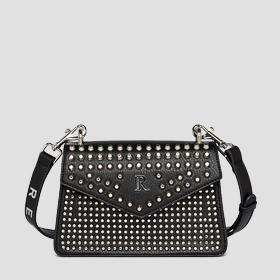 Crossbody bag with studs