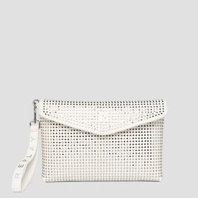 REPLAY flat purse with studs
