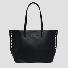 REPLAY shopper with studs