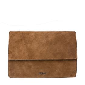 Suede flap bag fw3709.000.a3054