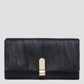 Wallet with plate