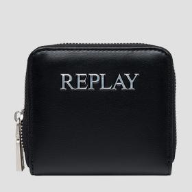 REPLAY wallet with zipper
