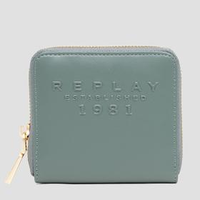 REPLAY ESTABLISHED 1981 wallet with zipper