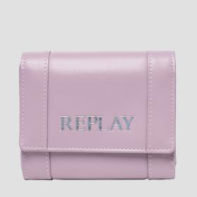 Solid-coloured REPLAY wallet
