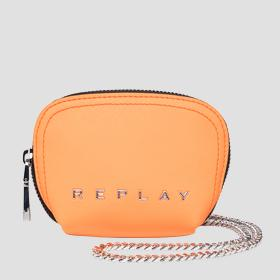 REPLAY coin pouch with shoulder strap