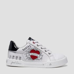 Girls' ASAMI lace up sneakers