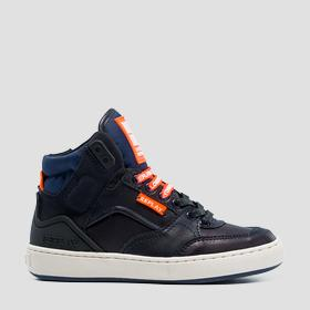 Boys' BOKAI lace up mid cut sneakers