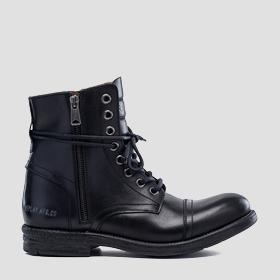 Men's PHIM lace up leather ankle boots