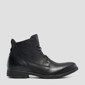 Men's GUNHILL leather mid boots