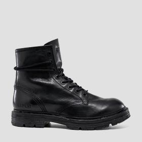 Men's COWAN lace up leather ankle boots