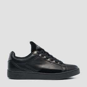 Men's BASIC lace up leather sneakers