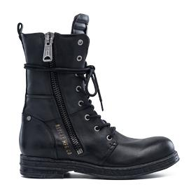 Women's EVY lace-up ankle boots with side zip gwl26 .000.c0016l
