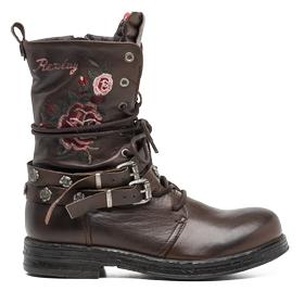 Women's UPSET leather boots gwl26 .000.c0037l