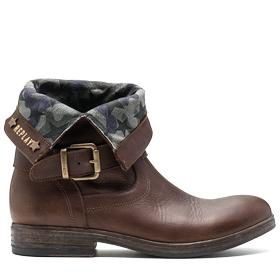 Women's OCEANS leather ankle boots gwl33 .000.c0022l