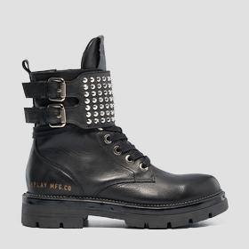 Women's MYKITA lace up leather boots