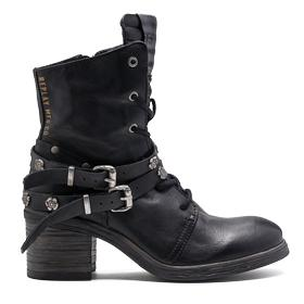 Women's MANIA leather ankle boots gwn44 .000.c0002l