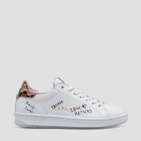 Women's HAYDEN lace up leather sneakers