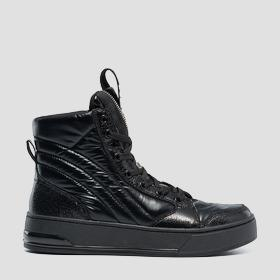 Women's POLYMATH lace up mid cut sneakers