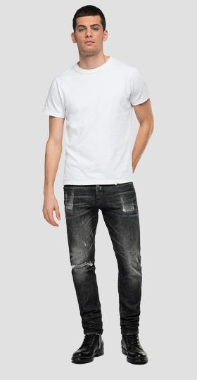 Tapered fit Broken Edge Tinmar jeans
