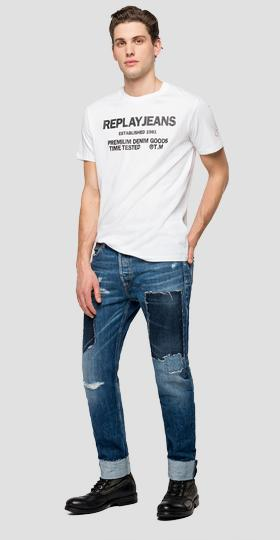 REPLAY JEANS crewneck t-shirt