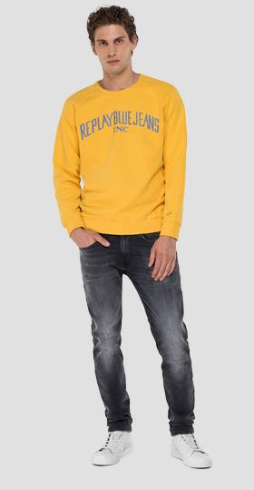 REPLAY BLUE JEANS crewneck sweatshirt