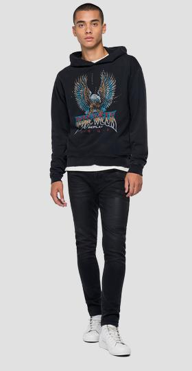 REPLAY ROCK CAPSULE COLLECTION oversized sweatshirt