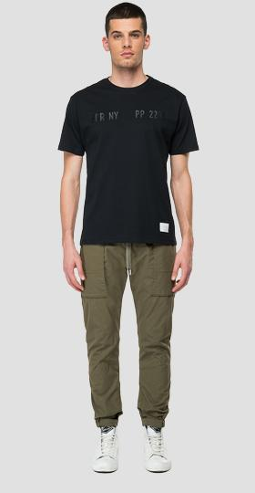 REPLAY SPORTLAB solid-coloured jersey t-shirt