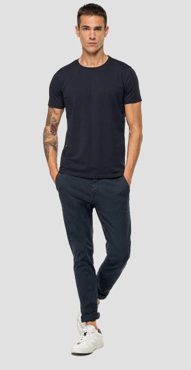 T-shirt with side stripe