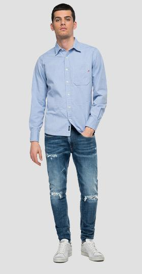shirt in oxford cotton Aged 10 years