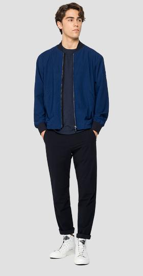 Evoflex stretch bomber jacket